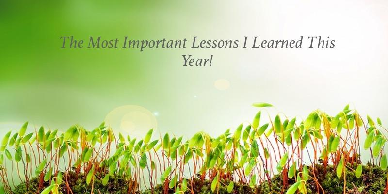 New Year Lessons #HappyNewYear