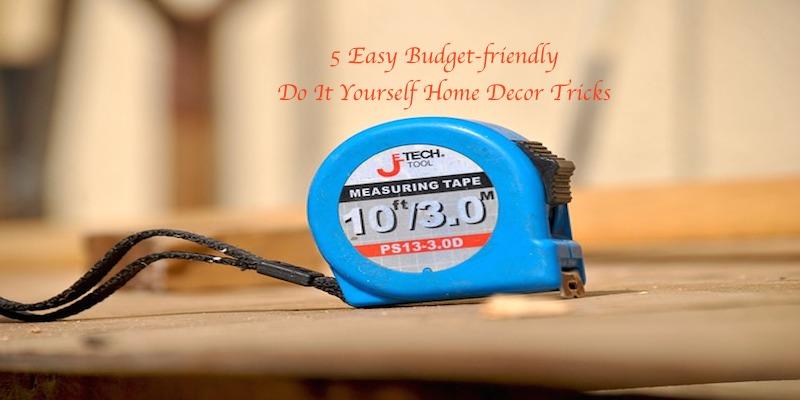 5 #DIY Home Decor Tricks via @CleverlyChangin