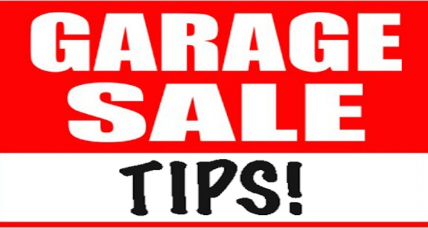 Great tips for helping your yard/garage sale look professional