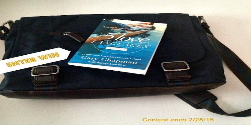Enter to win The Five Love Languages for Men by Gary Chapman