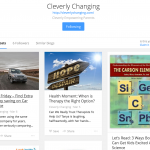 You Can Now Find Cleverly Changing on Bloglovin