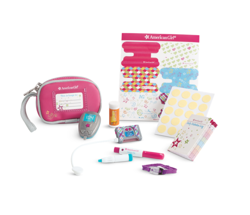 American Girl Doll Diabetes Kit