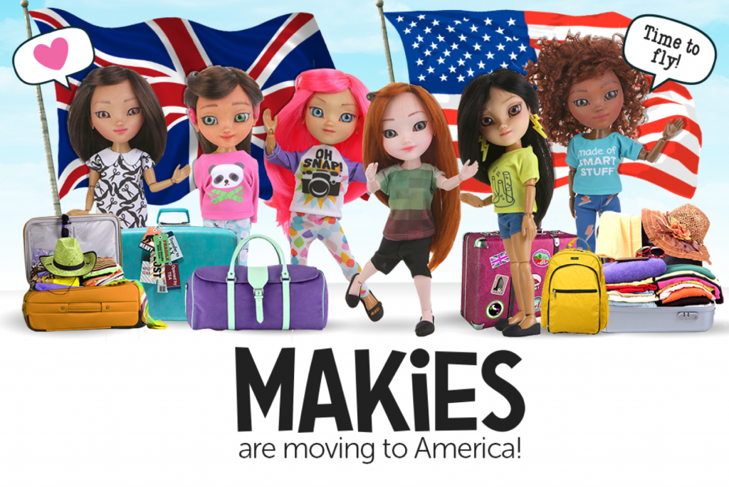 Makies are moving to America