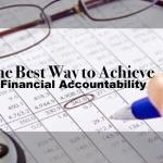 Financial Accountability Checklist – 4 Goals that Lead to Success