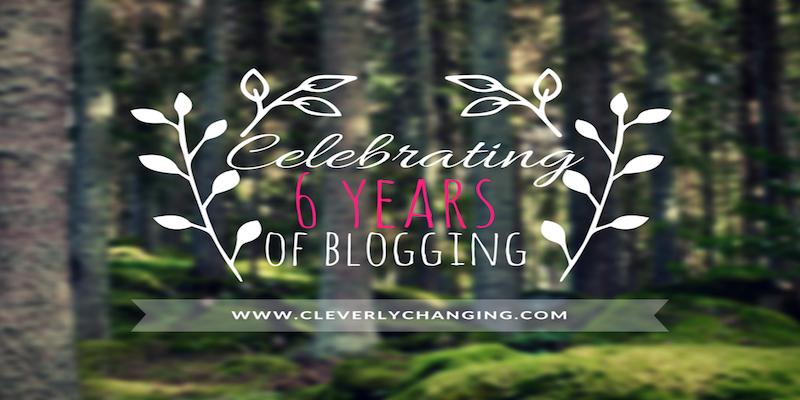Celebrating 6 yrs Blogging Banner