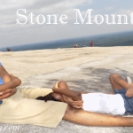 Trying To Stay Fit – Stone Mountain