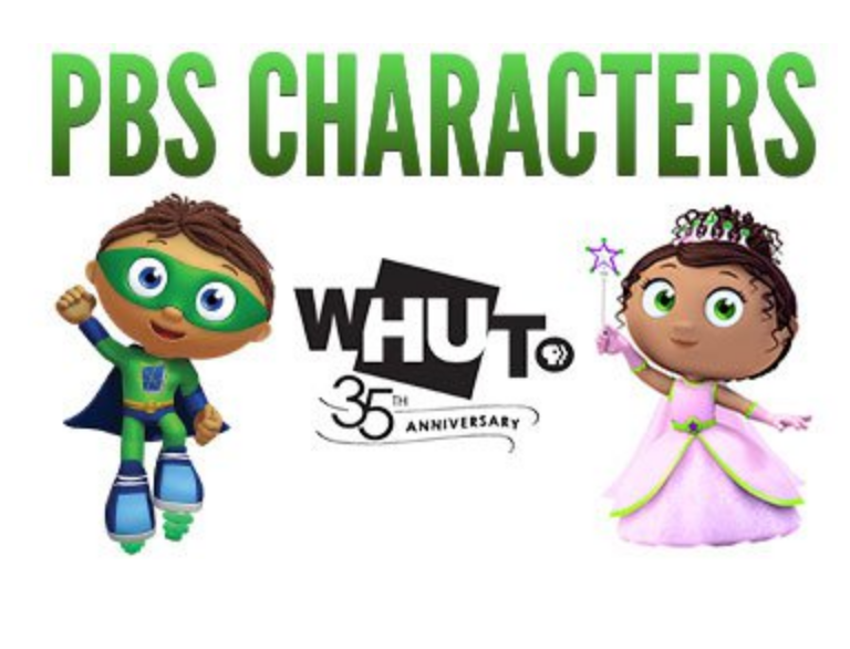 PBS Characters at the Washington Auto Show