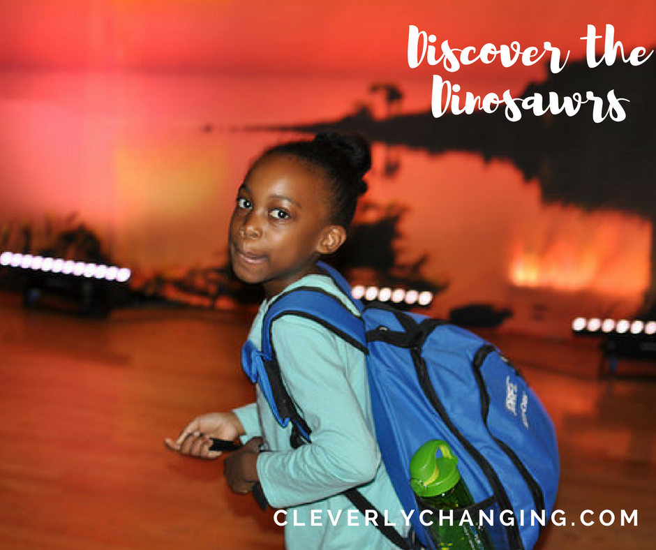 Discover the Dinosaurs CleverlyChanging Discount code enclosed