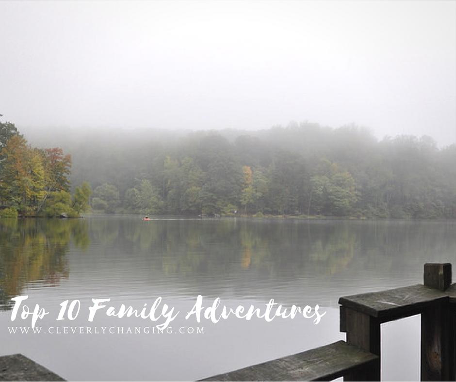 Lake View at Cunningham Falls Camping Trip Top 10 Family Homeschool Adventures