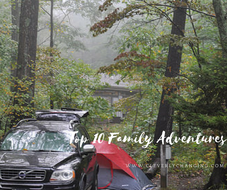 Campsite with Tent Camping Trip Top 10 Family Homeschool Adventures