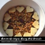 How to Make Homemade Vegan Granola and a Smoothie Bowl