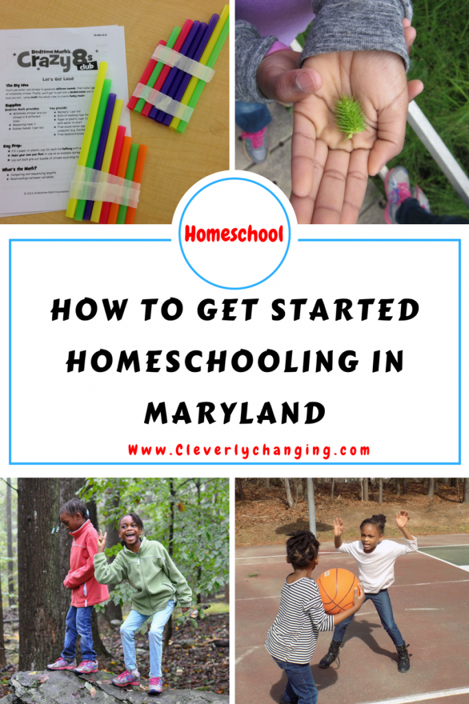 How to get started homeschooling in Maryland