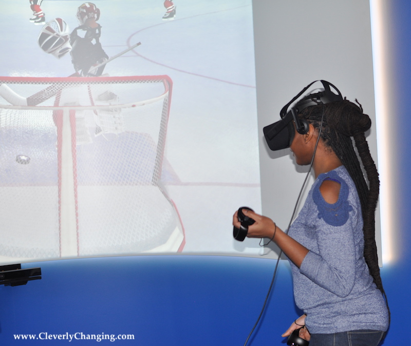 Virtual Reality Game System at Studio Xfinity in DC