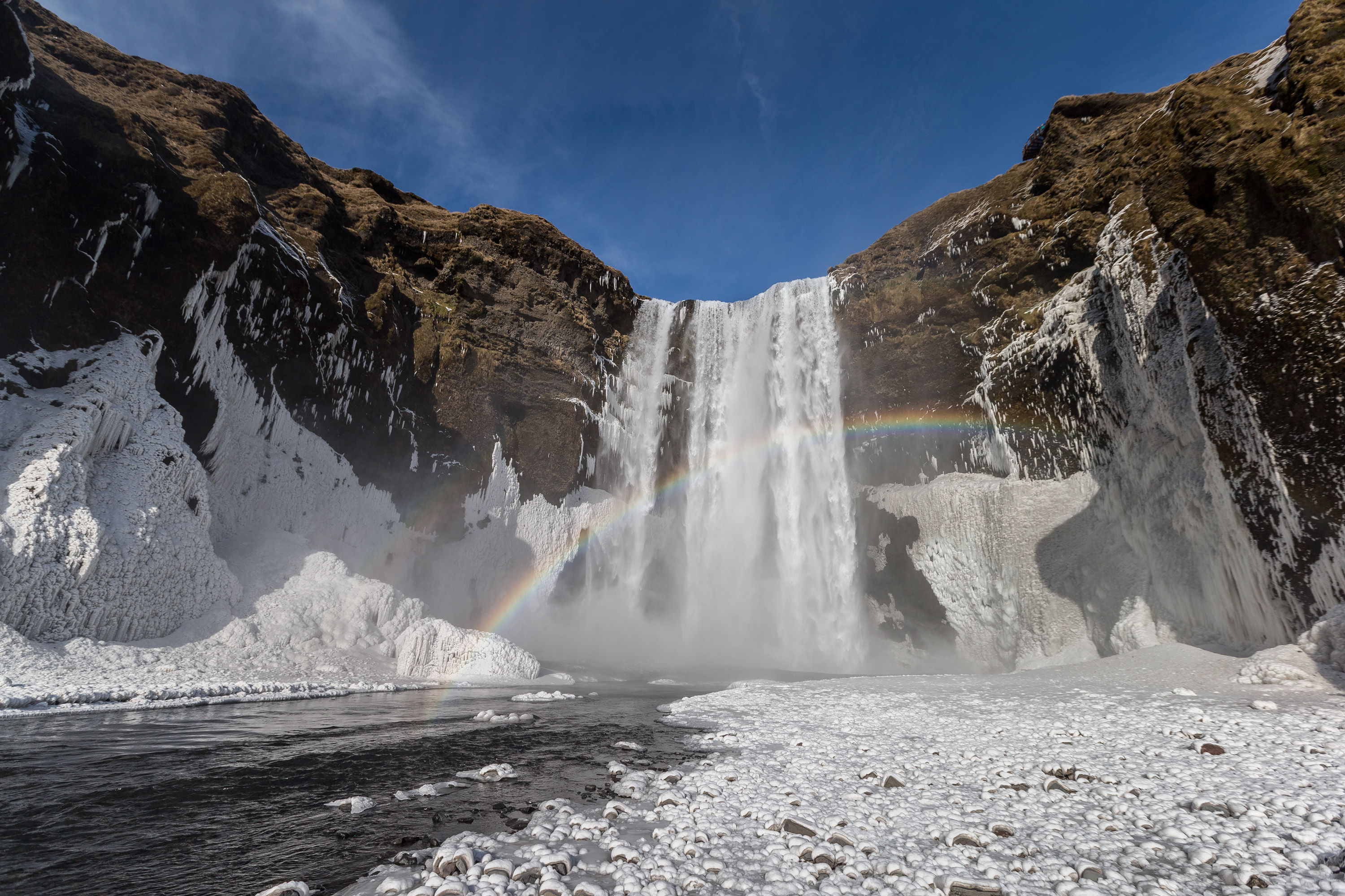 How to Plan a Family-Friendly Vacation to Iceland (Skogarfoss Water Fall South Iceland)