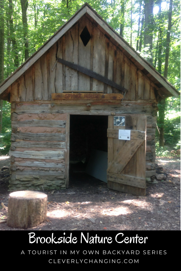 19th Century Smokehouse at the Brookside Nature Center in Wheaton MD from the Explore Your Own Backyard Series