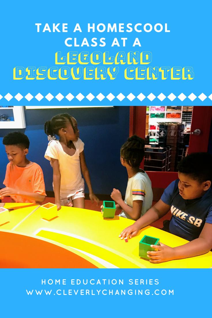 Legoland homeschool class