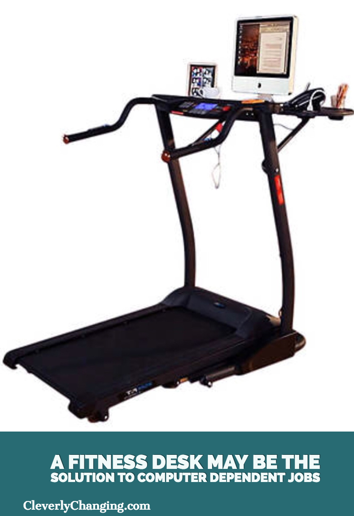Computer desk workout equiptment
