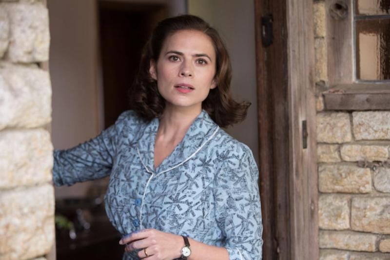 Evelyn Robin played by Actress Hayley Atwell in Christopher Robin