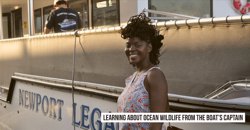Homeschool field trip - Learning about Ocean Wildlife from the Boat's Captain
