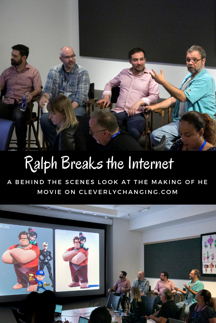 The Ralph Breaks the internet team who populated the Internet (Disney Partner)