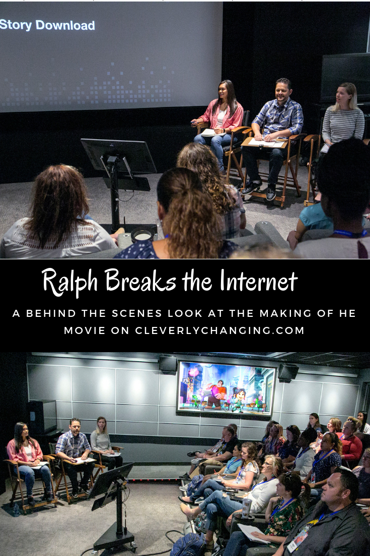 The Story Download Team at Disney Behind the Scenes Look At Ralph Breaks the Internet