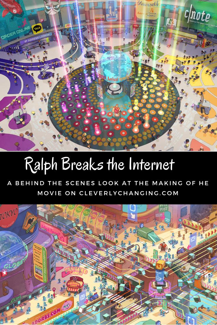 's Wide World For Ralph Breaks the internet (Disney Partner)