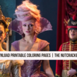 New Coloring Pages for Children – The Nutcracker and the Four Realms