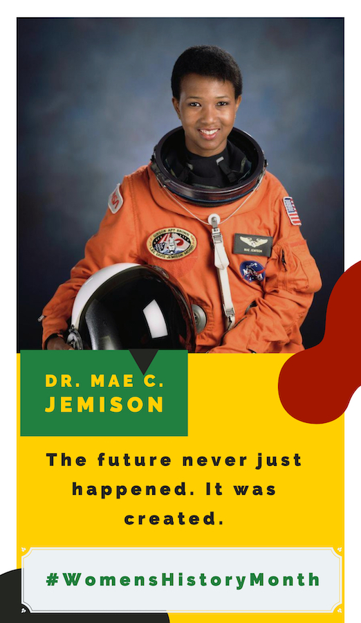 Living African American Women Who Inspire Mae Jemison