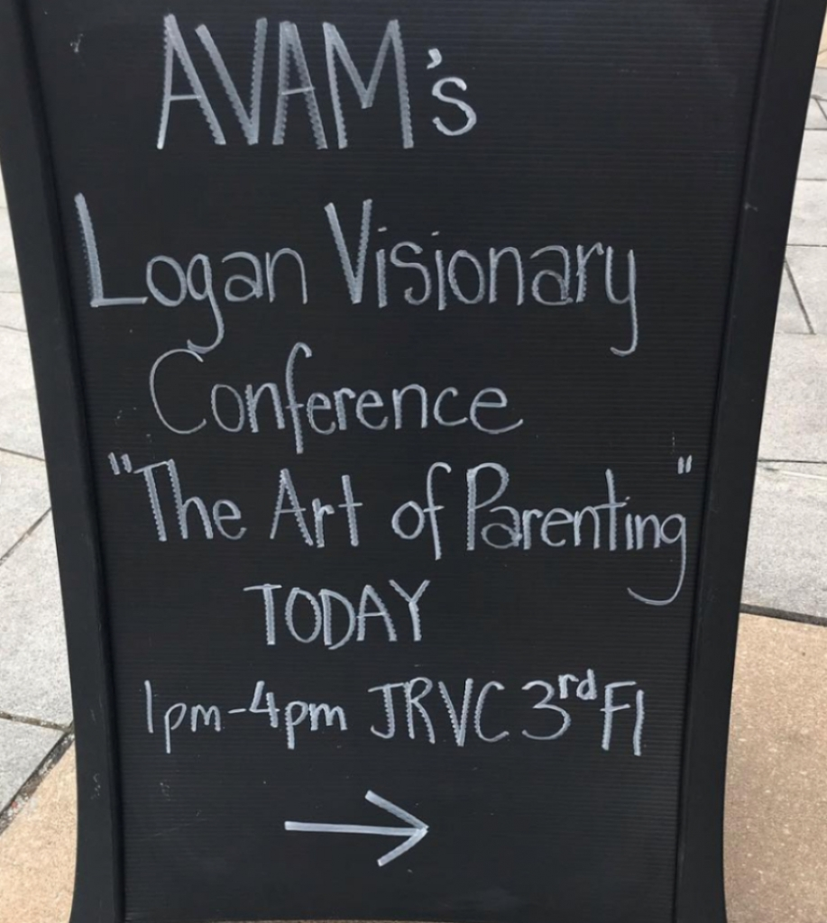 Recap of the Logan Visionary Conference 2019 – The Art of Parenting_sign