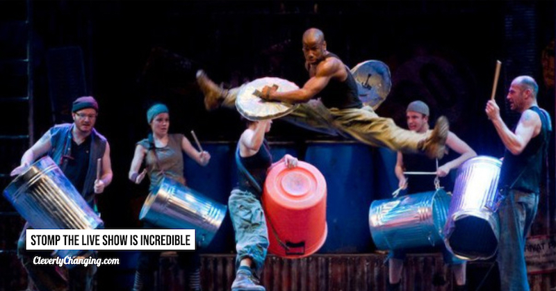 Stomp the live show is incredible