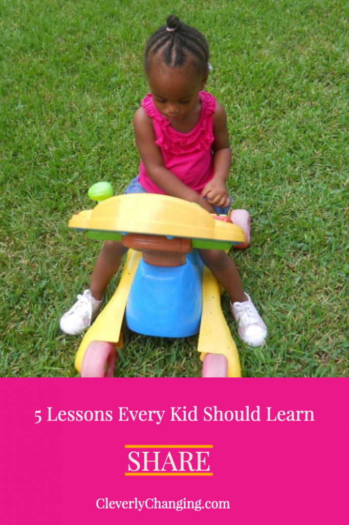 5 Lessons Every Kid Should Learn