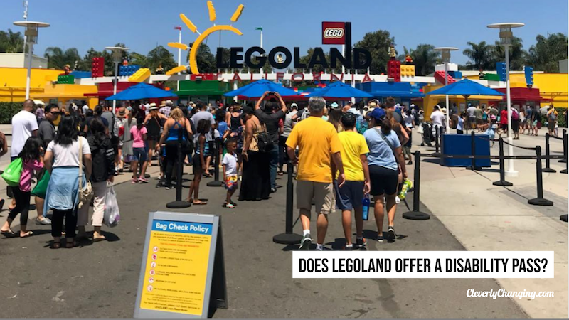 Does LEGOLAND offer a disabilty pass