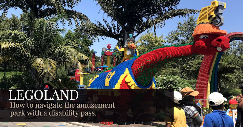 LEGOLAND how to navigate the park with a disability pass