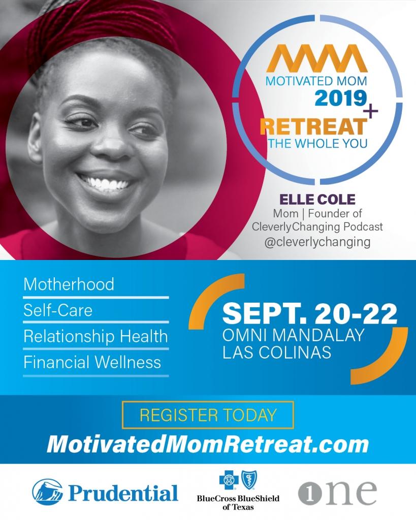 Elle Cole Motivated Mom Retreat Speaker