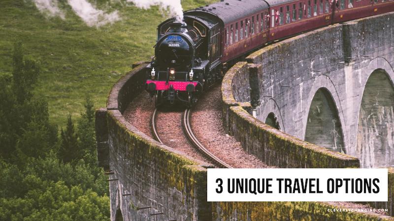 Train travel (3 travel options)