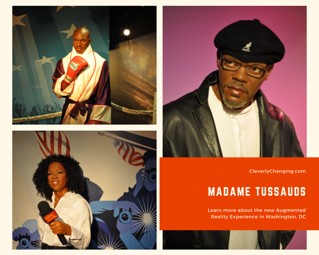 Madame Tussauds Augmented Reality Experience