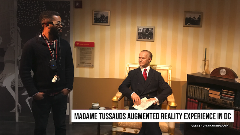 Madame Tussauds Augmented Reality Experience in DC