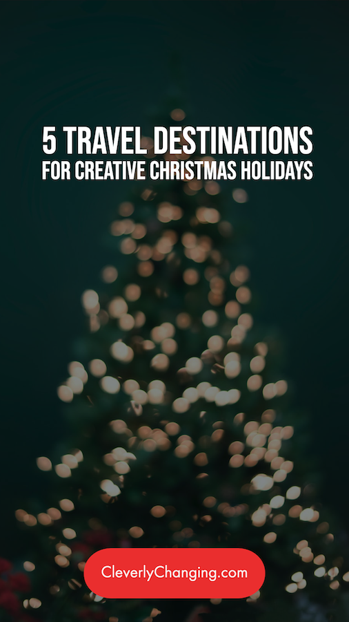 5 Travel Destinations for Creative Christmas Holidays | tree