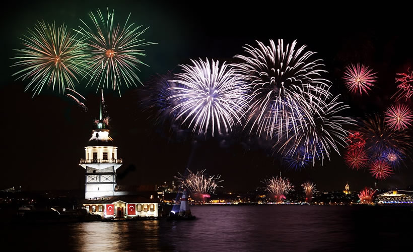 New Years Eve in Istanbul | image credit packaged tours in Turkey