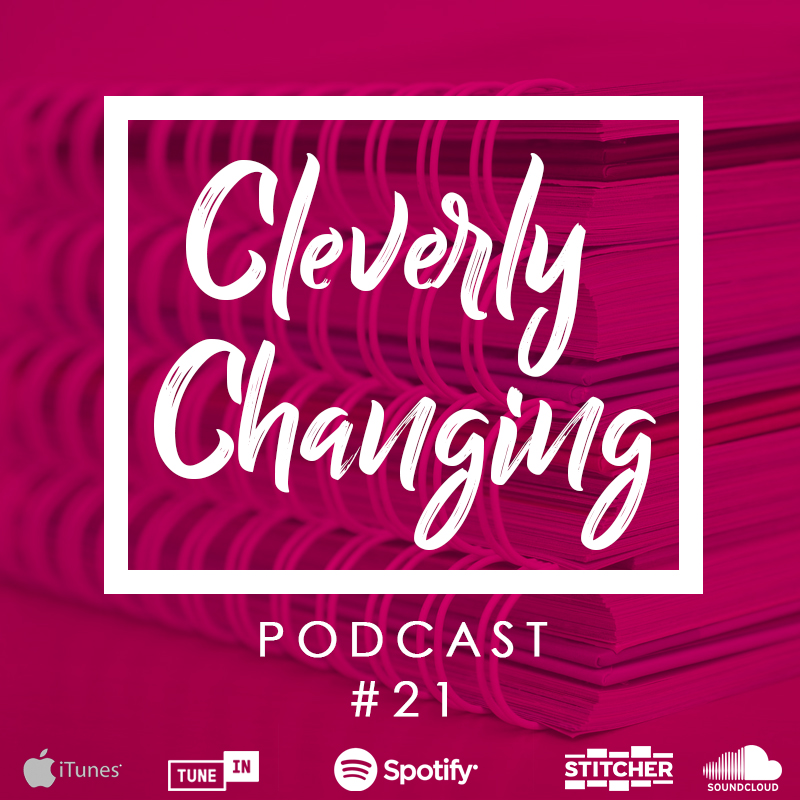 The Process of Keeping A Homeschool Portfolio   The CleverlyChanging Podcast Episode 21