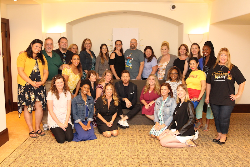 Elle Cole Blogger | Press Junket with Ewan McGregor photo credit: Louise Manning Bishop of https://momstart.com
