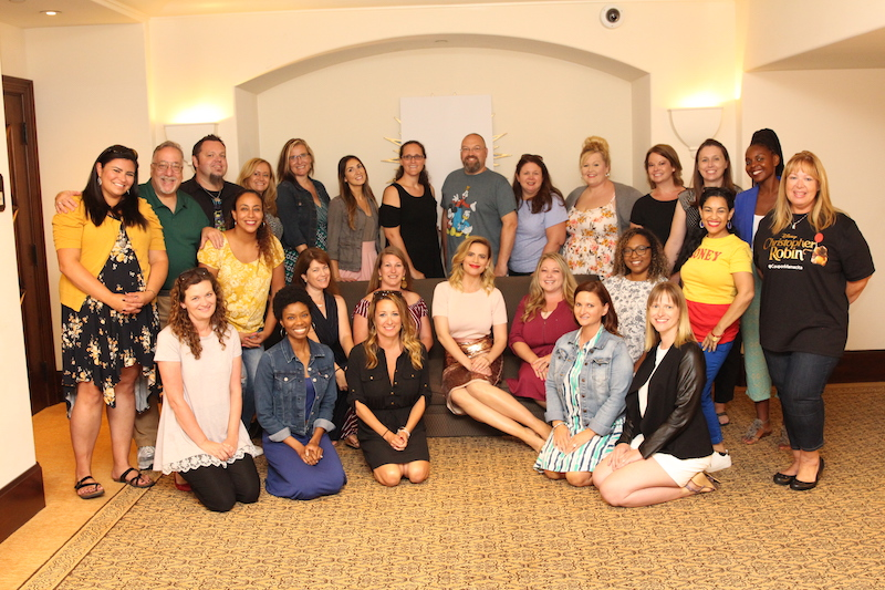 Elle Cole Blogger | Christopher Robin Press Junket with Hayley Atwell photo credit: Louise Manning Bishop of https://momstart.com