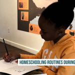 Homeschooling Routines During a Pandemic