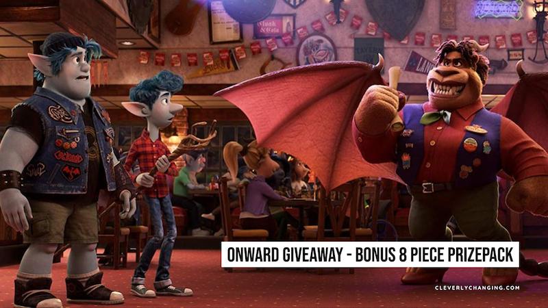 Onward Giveaway - Bonus 8 Piece Prizepack