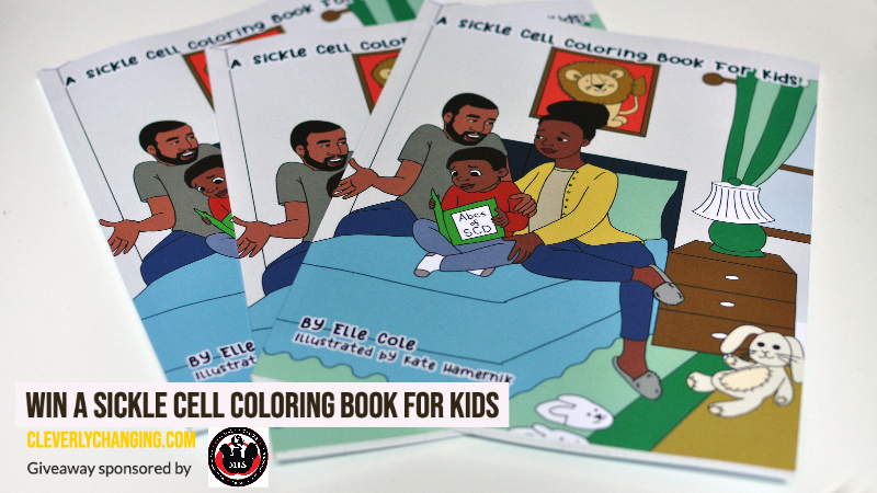 Sickle Cell Coloring Book for Kids Giveaway