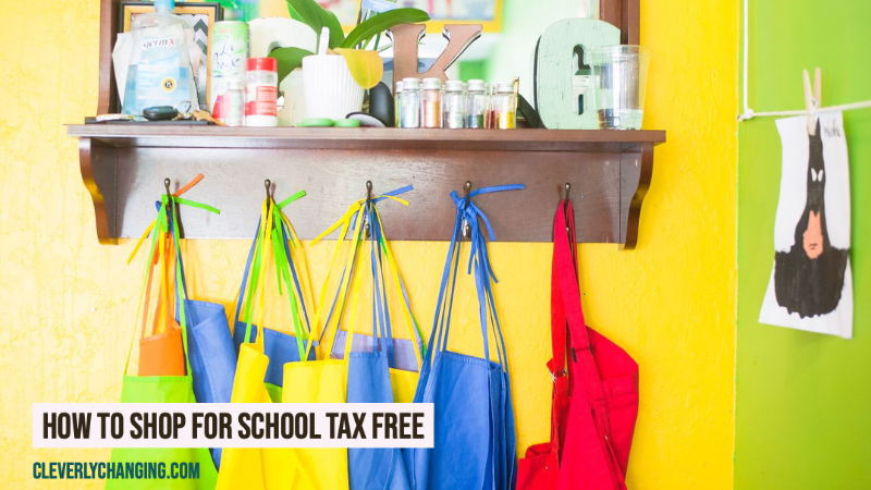 How to Shop For School Tax Free