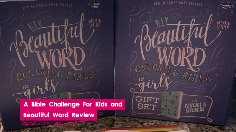 A Bible Challenge For Kids and Beautiful Word Review