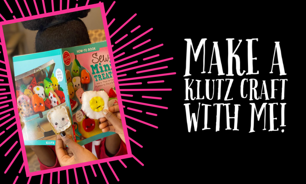 Make Klutz Sew Mini Treats for Craft Month