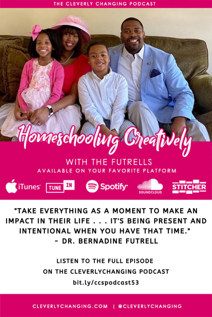 Homeschooling Creatively | Lesson 53 | The Cleverly Changing Homeschool Podcast