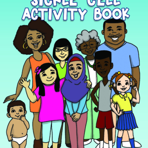 The Ultimate Sickle Cell Activity Book for preteens, teens, and adults you want to learn about sickle cell in a fun unconventional way.